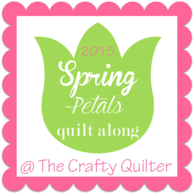 Spring Petals QAL @ The Crafty Quilter