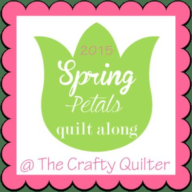 Spring Petals QAL @ The Crafty Quilter
