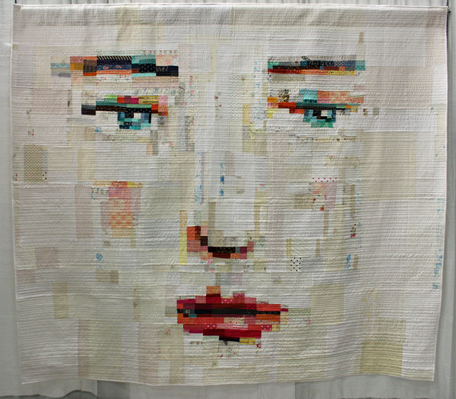 "Judge's Choice, Improvisation:  ""Face #1"" by Melissa Averinos"