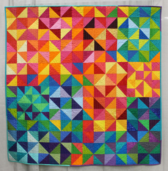 """""""Pixelated Pinwheels"""" from Lee, New Hampshire"""