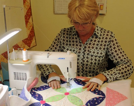 crafty quilter quilting
