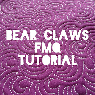 Bear Claws FMQ tutorial @ A Few Scraps