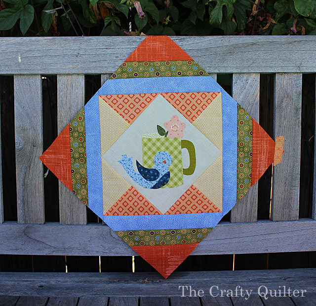 Cozy Afternoon BOM Block 4 by Julie Cefalu @ The Crafty Quilter