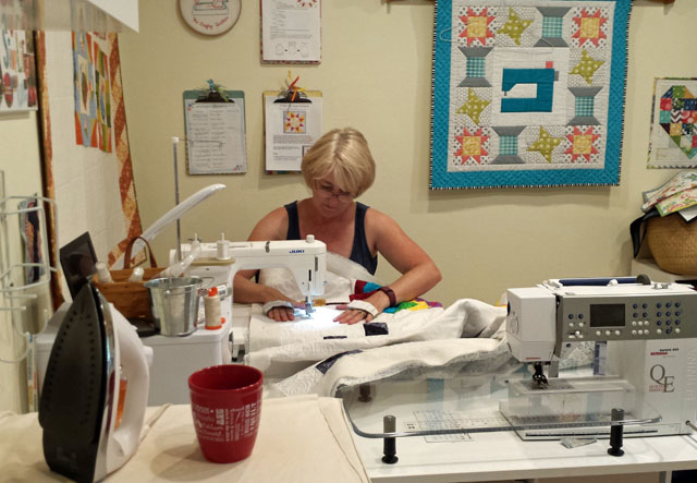 Quilting by julie Cefalu of The Crafty Quilter
