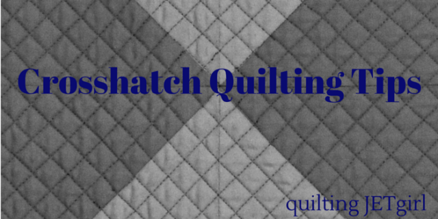 crosshatch-quilting-tips from Quilting Jetgirl