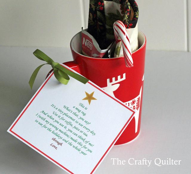 mug rug poem in mug copy