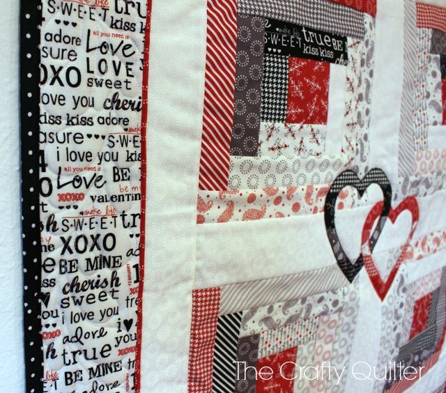 Hope Blooms Quilt made by Julie Cefalu