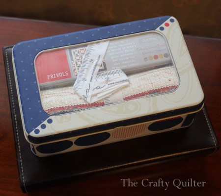 Frivols #2 Giveaway at The Crafty Quilter