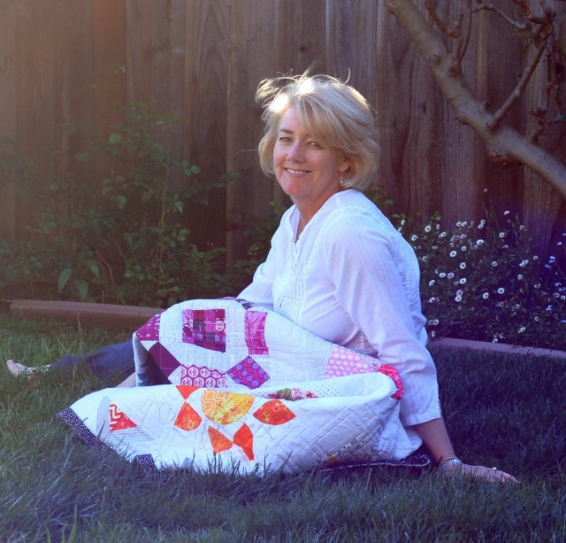 Julie Cefalu at home