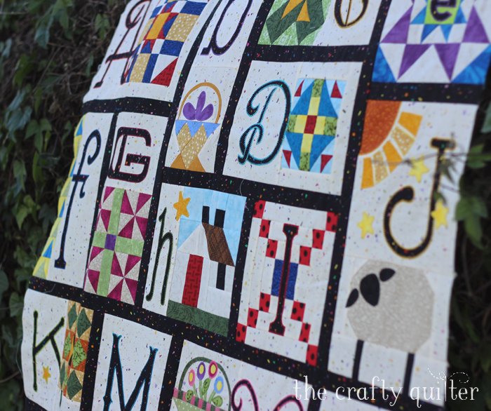 A-Z for Ewe and Me, made by Julie Cefalu