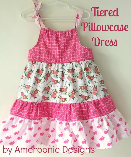 Tiered+Pillowcase+Dress
