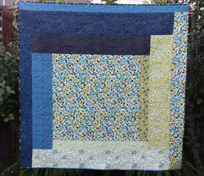 Supersized Stars Quilt made by Julie Cefalu