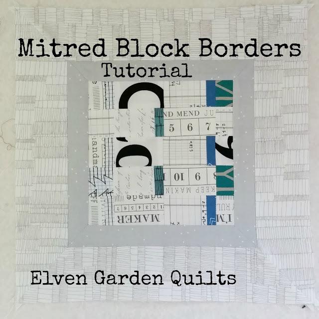mitred borders
