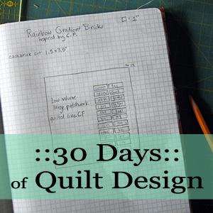 30 days of quilt design