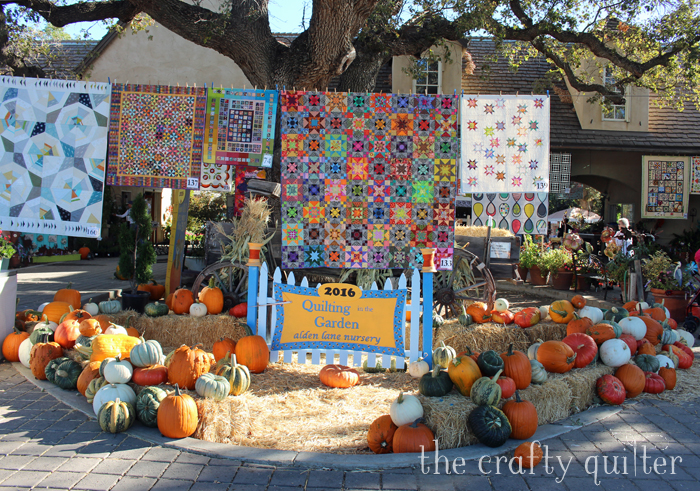 Quilting in the Garden favorites from 2016.  Photography by Julie Cefalu @ The Crafty Quilter