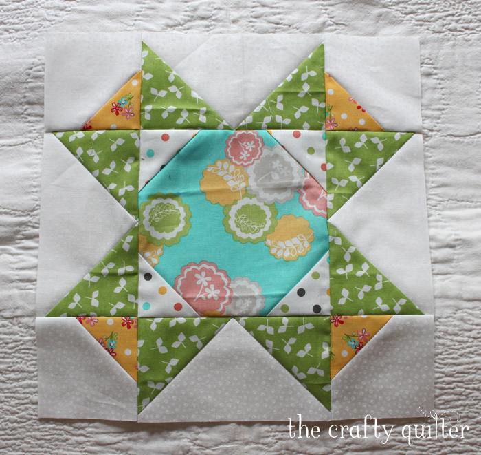 Sugar Block Club, Month 8 @ The Crafty Quilter