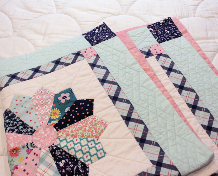 Enchanted Dresden Baby Quilt by Julie Cefalu at The Crafty Quilter for the Enchanted Blog Tour