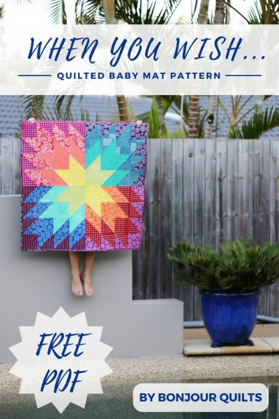 When You Wish Baby Quilt Pattern by Bonjour Quilts