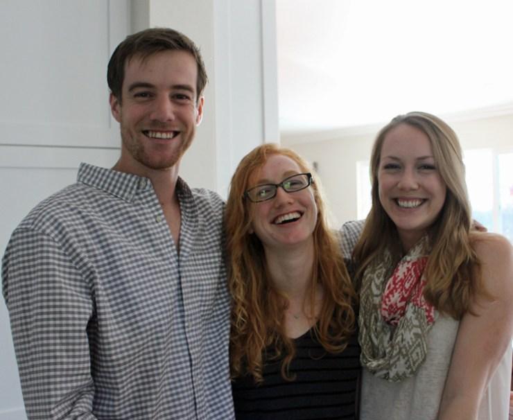 Three Cefalu siblings