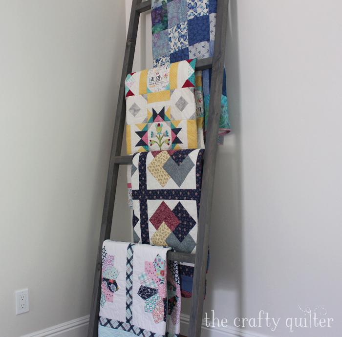 Quilt ladder @ TheCrafty Quilter