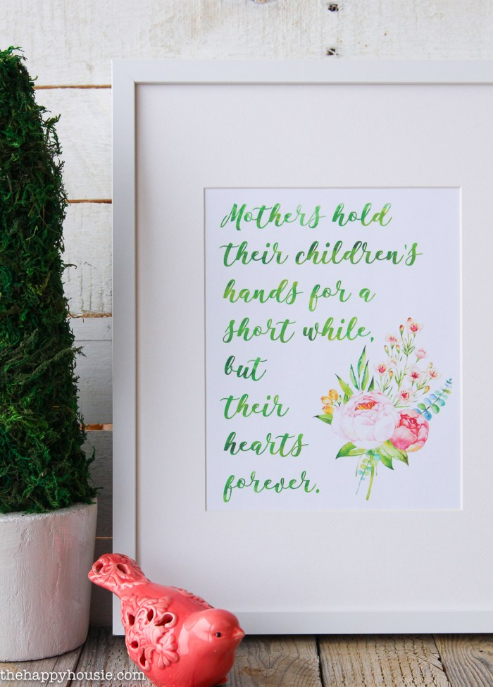 Free Mother's Day Printables @ The Happy Housie