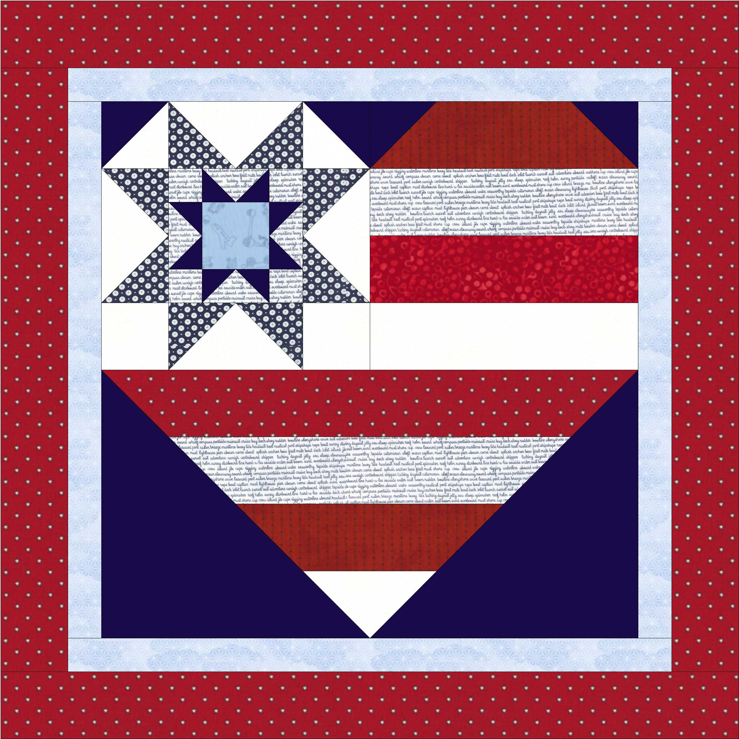 Star Spangled Heart Pattern Is Here The Crafty Quilter