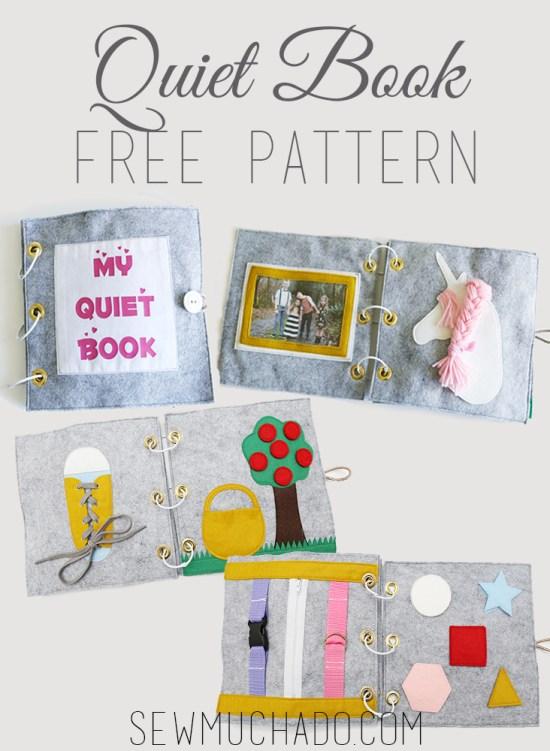 Quiet Book Pattern @ Sew Much Ado