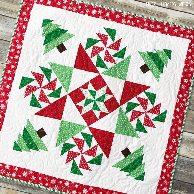 Christmas Mystery Quilt @ Fort Worth Fabric Studio