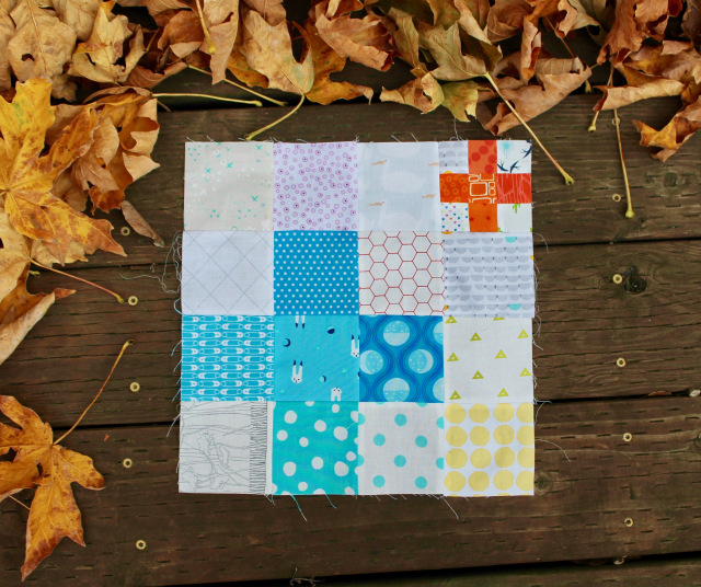 Double Plus Block @ Wombat Quilts