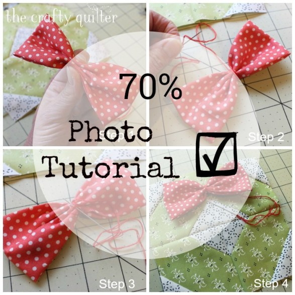 Photo tutorial for Ho Ho Farmhouse Pillow @ The Crafty Quilter