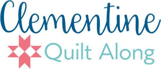 Clementine Quilt Along @ Fat Quarte Shop benefitting St. Jude Research Children's Hospital
