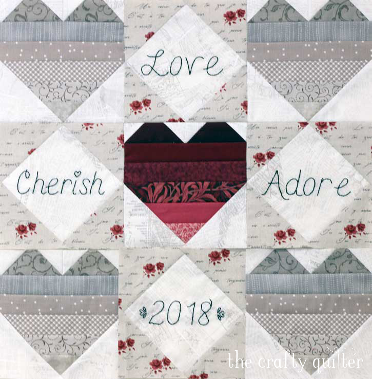 Quilted heart projects:  Ombre love tutorial coming soon @ The Crafty Quilter