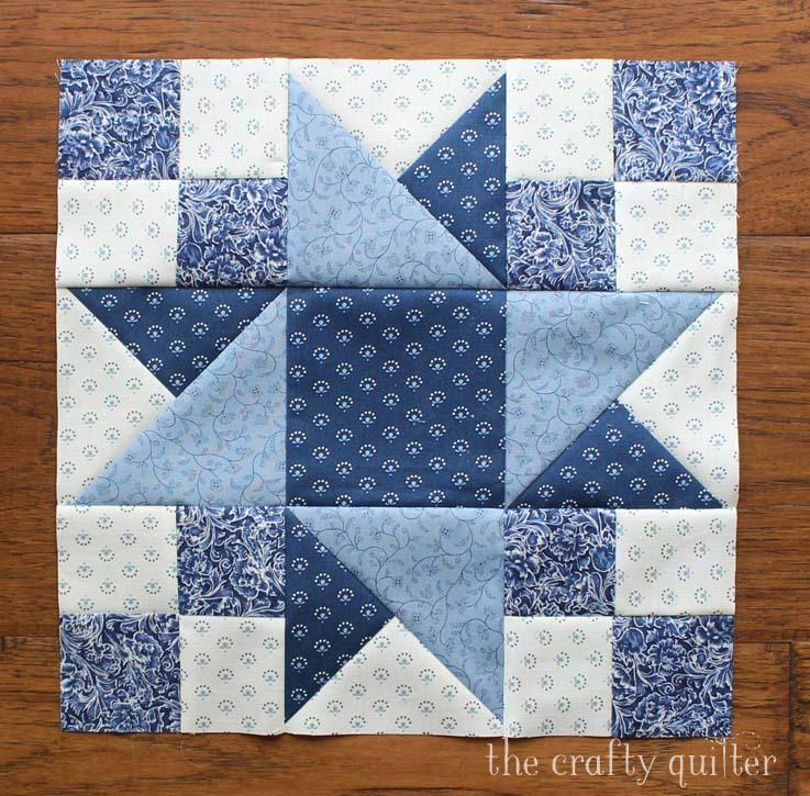Vintage Sampler Quilt Block made by Julie Cefalu. Designed by Barbara Eikmeier