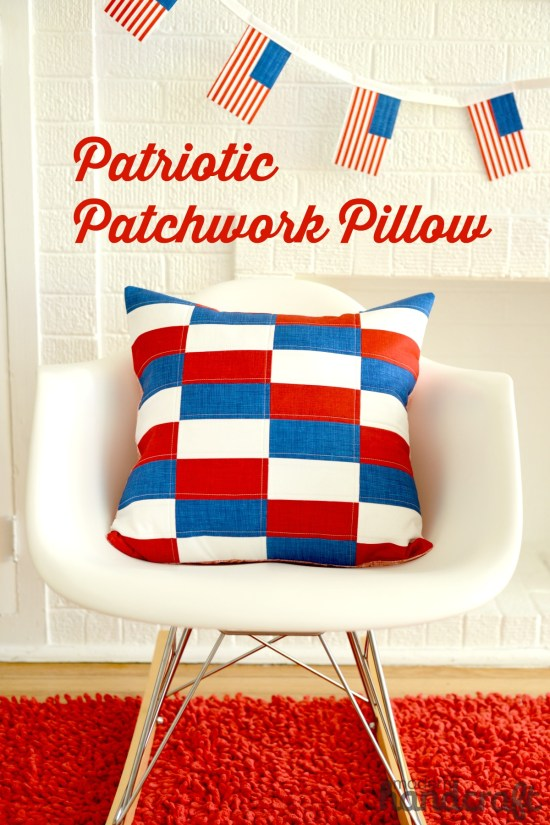 Patriotic Pillow Tutorial @ Modern Handcraft