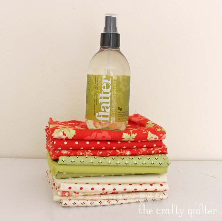 What type of spray starch should you use for quilting and why? Julie @ The Crafty Quilter answers those questions and more.