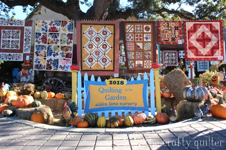 Quilting in the Garden favorites from 2018.  Photography by Julie Cefalu @ The Crafty Quilter