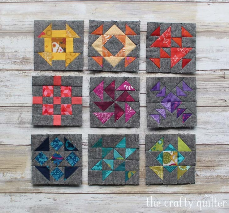 The Quilter's Planner Sew Along by Julie Cefalu @ The Crafty Quilter