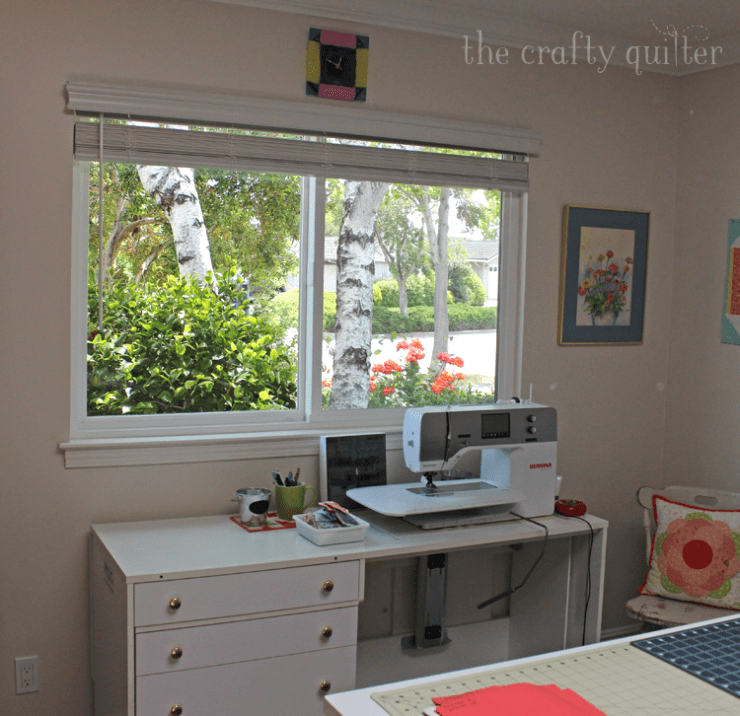 Ironing board station and updates at The Crafty Quilter