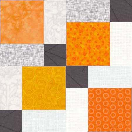 Disappearing 9-patch QAL, week 2 at The Crafty Quilter.  Today we will make the 9-patch blocks and turn them into disappearing 9-patch blocks.  I share lots of tips and options, too!