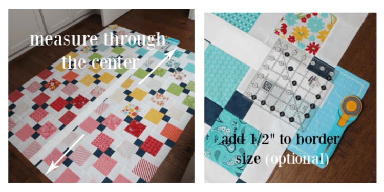 Disappearing 9-patch QAL week 4 includes tips for adding borders and quilting ideas.