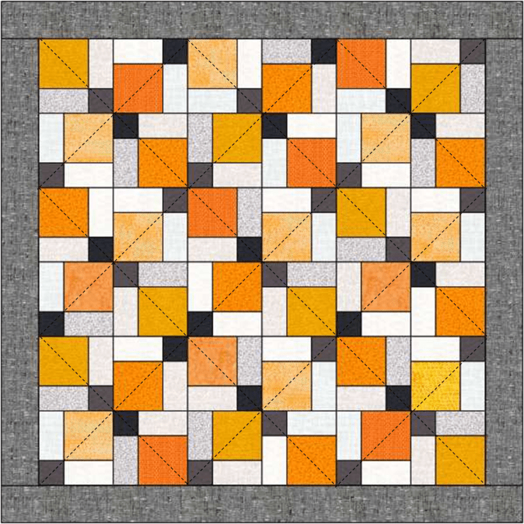 How to audition quilt designs before quilting your quilt @ The Crafty Quilter