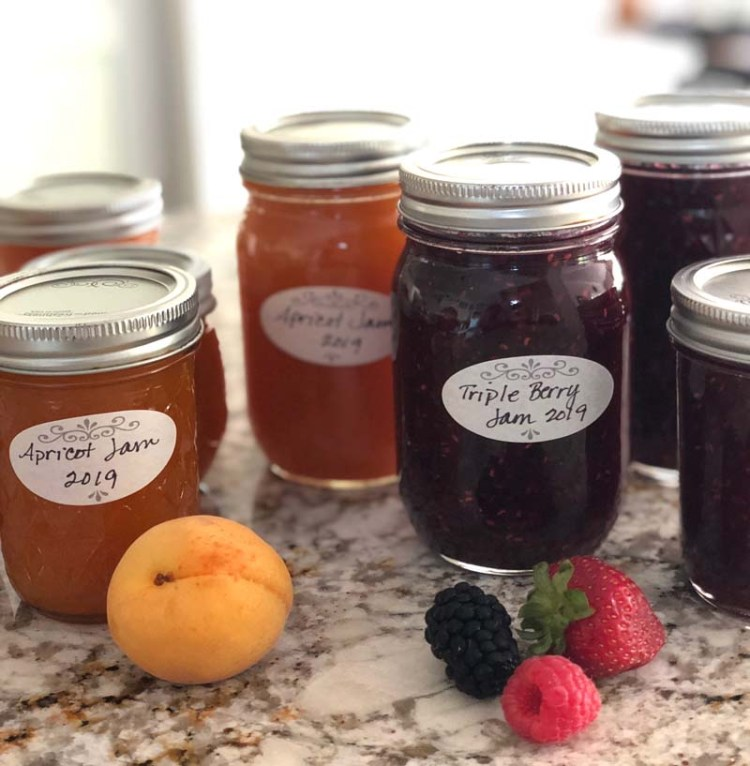 Homemade jam by Julie Cefalu