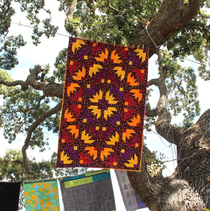 Quilting in the Garden, 2019.  Photo tour by Julie Cefalu @ The Crafty Quilter