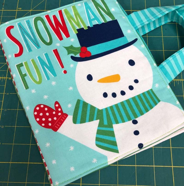 November update:  Snowman Fun made by Pam for The Granary Quilt Shop.