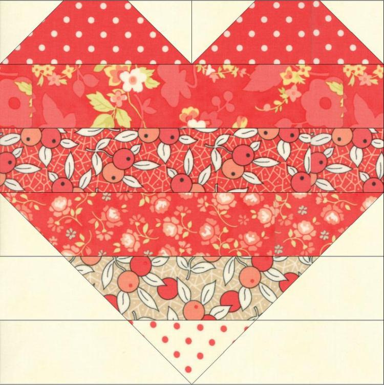 Farmhouse Love, a free quilt pattern @ Laugh Yourself Into Stitches