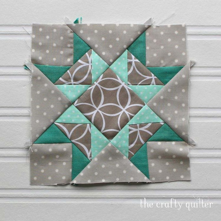 Fixing quilt blocks is not fun, but it's necessary.  Check out The Crafty Quilter's steps to make your next quilt block more accurate