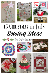 15 Christmas in July Sewing Ideas
