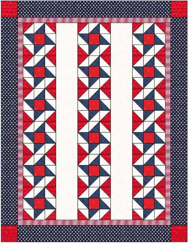 Quilt designed by Julie Cefalu for QOV