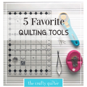 5 favorite quilting tools