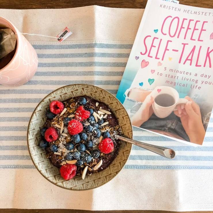 Coffee Self-Talk is a great way to start the day (along with my homemade Maple Pecan Granola Recipe).